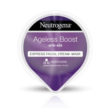 Neutrogena Ageless Boost Express Facial Cream Mask maschera Anti-età 10 ml