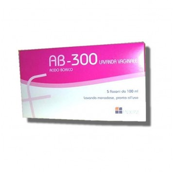 Ab 300 Lavanda Vaginale 5 Flaconi 100 ml