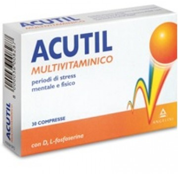 ACUTIL MULTIVIT 30 CPR