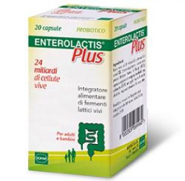 Enterolactis Plus 20 compresse