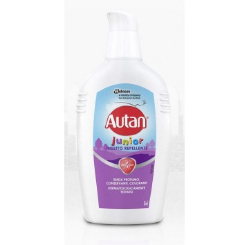 Autan Linea Family Care Junior Latte Delicato Insetto Repellente 100 ml