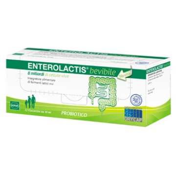 Enterolactis 12 flaconcini da 10 ml