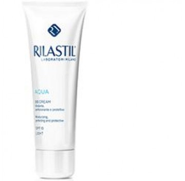 Rilastil Aqua BB Cream Crema Idratante Viso Colorata 40 ml