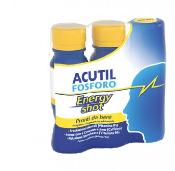 Acutil Fosforo Energy Shot 3x60 ml