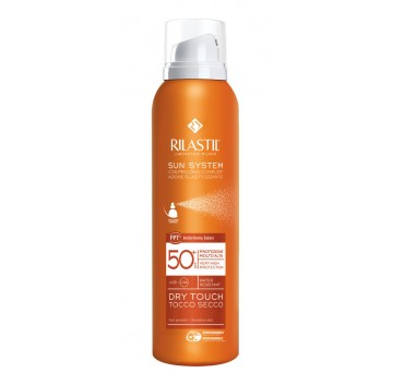 Rilastil Sun System Dry Touch SPF50+ - Spray Ultraleggero Tocco Asciutto 200 ml