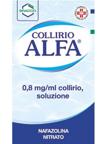 Collirio Alfa*gtt 10ml0,8mg/ml