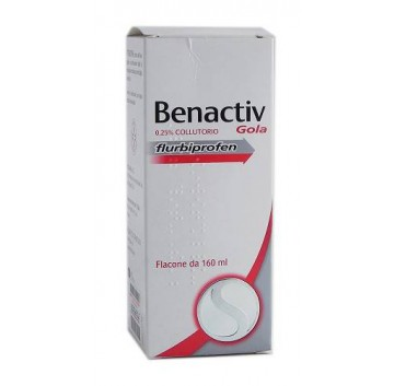 BENACTIV GOLA*COLLUT. 160 ML