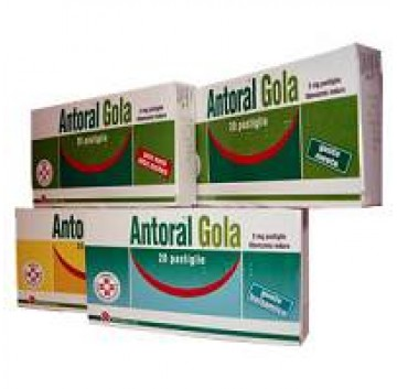 ANTORAL GOLA*20 PAST. 5 MG