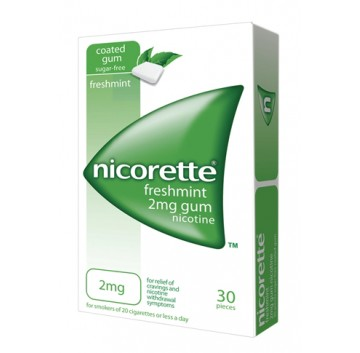 NICORETTE* 30 GOMME 2 MG