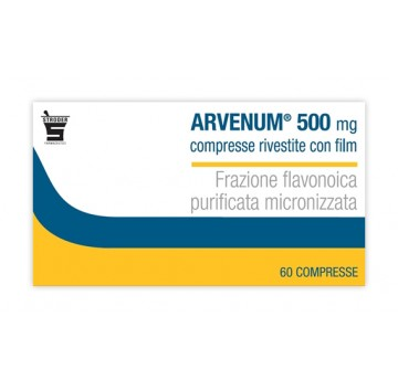 ARVENUM*60CPR RIV 500MG