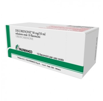 DECORENONE-50*OS 10 FL 50 MG