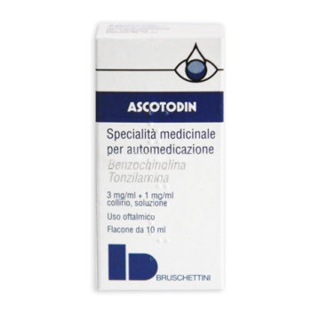 ASCOTODIN*COLLIRIO 10 ML